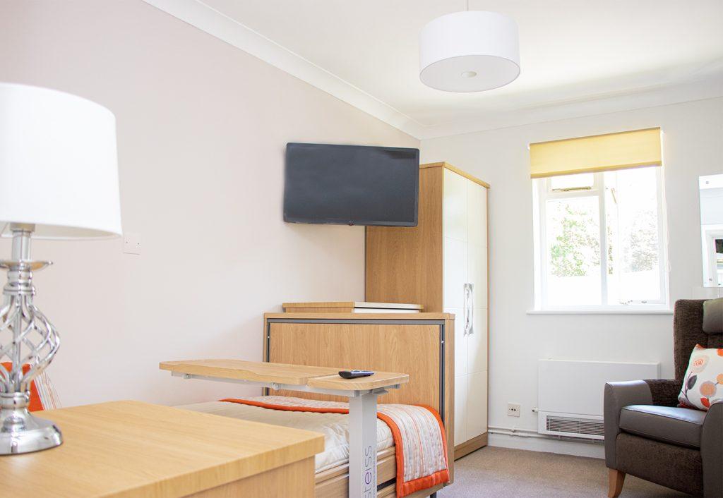Crossways Nursing Home Bedroom