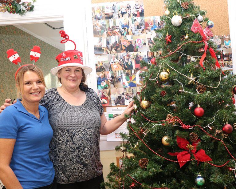 Christmas at Crossways nursing home