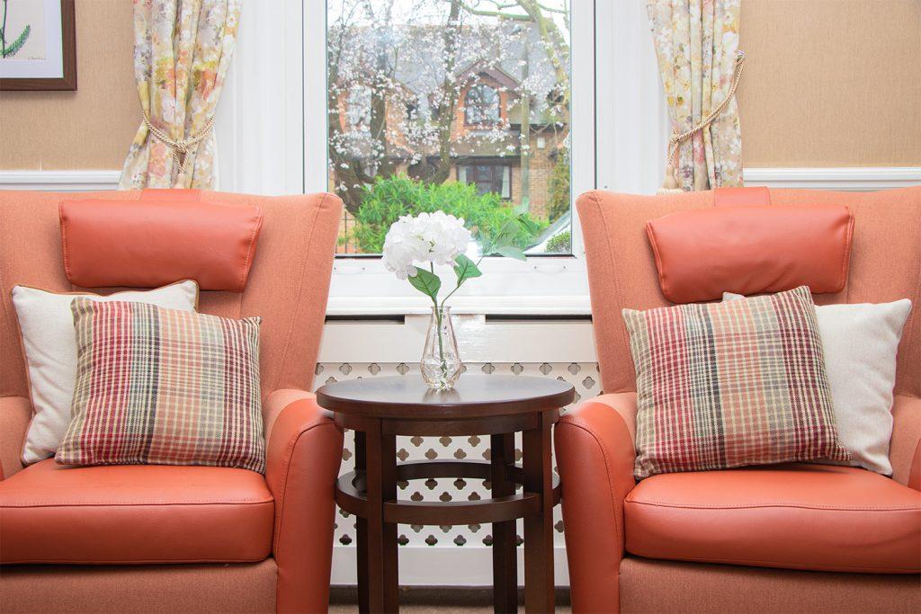 Crossways Nursing Home Living Room